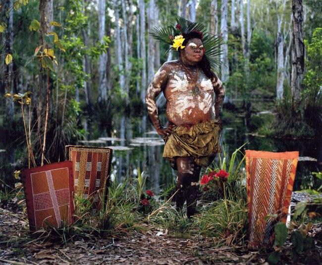 Bindi Cole. Wathaurung people 'Crystal' 2009