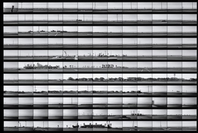 Ed Ruscha (American, born 1937) 'Contact sheet for Pacific Coast Highway' 1974