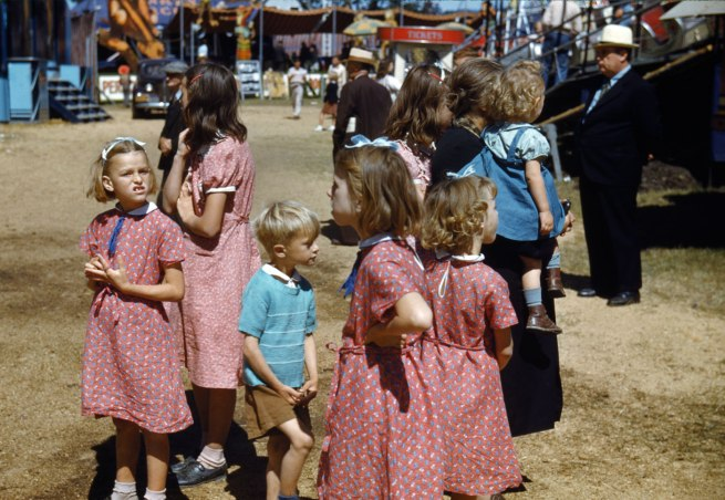 Jack Delano. 'At the Vermont State Fair, Rutland' 1941, printed 1985