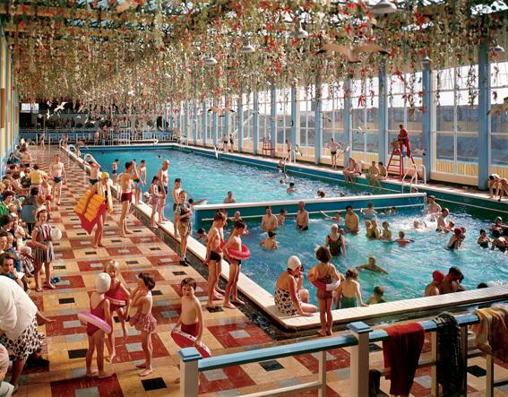 Elmar Ludwig and Edmond Nagele. 'The Indoor-Heated Pool, Butlin's Mosney' Nd