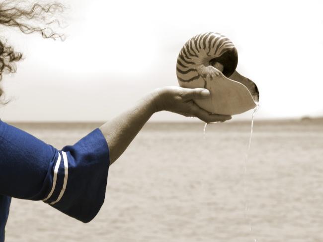 Fiona Foley. Badtjala people, Wondunna clan, Fraser Island 'The Oyster Fishermen #1' 2011
