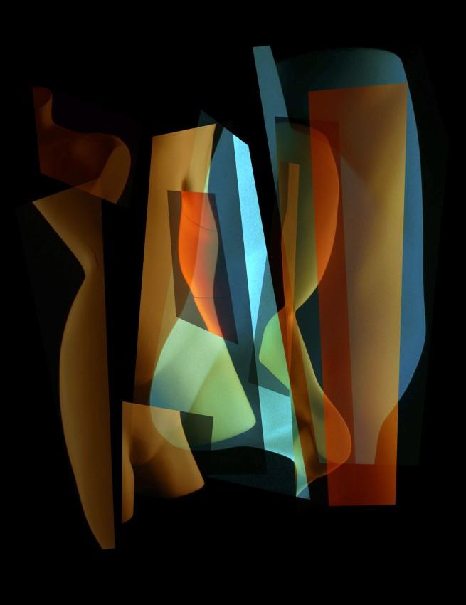 Michael Corridore. 'Form Collage 0001' 2001