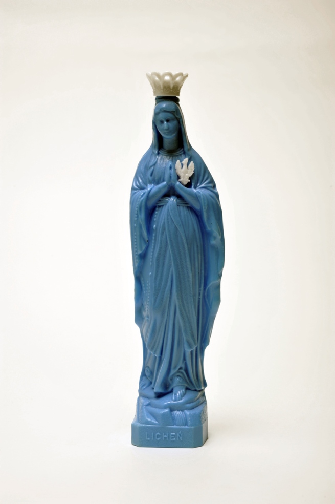'Mineral water bottle in the form of Madonna' Nd