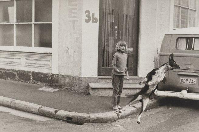 Carol Jerrems. 'Flying dog' 1973