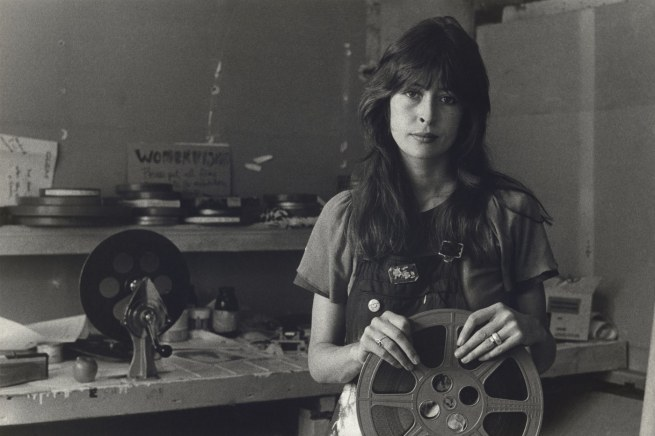 "Carol Jerrems. 'Jane Oehr, ""Womenvision"", Filmaker's Co-Op' 1973"