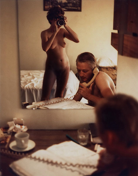 Carol Jerrems. 'Mirror with a memory: motel room' 1977