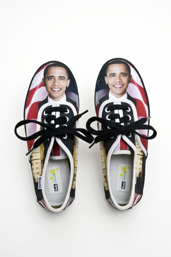 'Obama children's sneakers' 2008