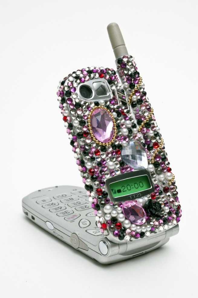 Moeko Ishida. 'Studded with Stones cell phone' 2009