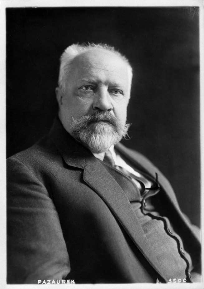 Portrait Professor Gustav E. Pazaurek, © Fotoarchiv Landesmuseum Württemberg