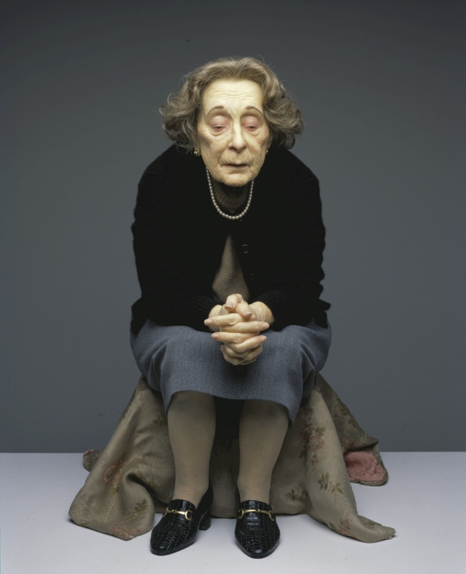 Ron Mueck. 'Untitled (Seated Woman)' 1999