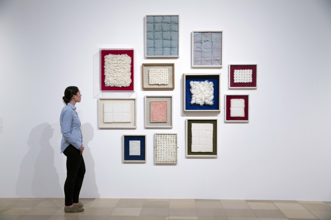 Exhibition view of Piero Manzoni. When Bodies became Art