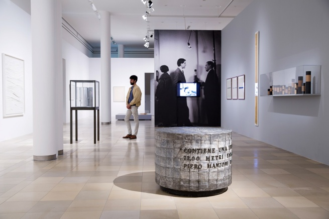 Exhibition view of Piero Manzoni. When Bodies became Art