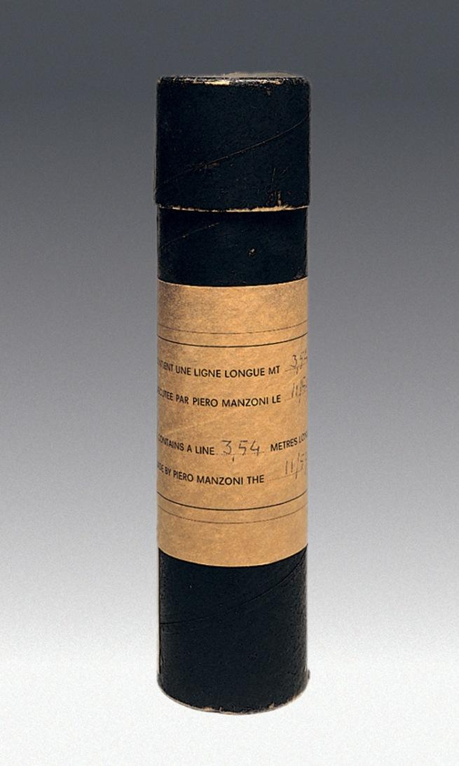 Piero Manzoni (1933-1963) 'Linea m 3,54' (Line 3.54 m) 1959