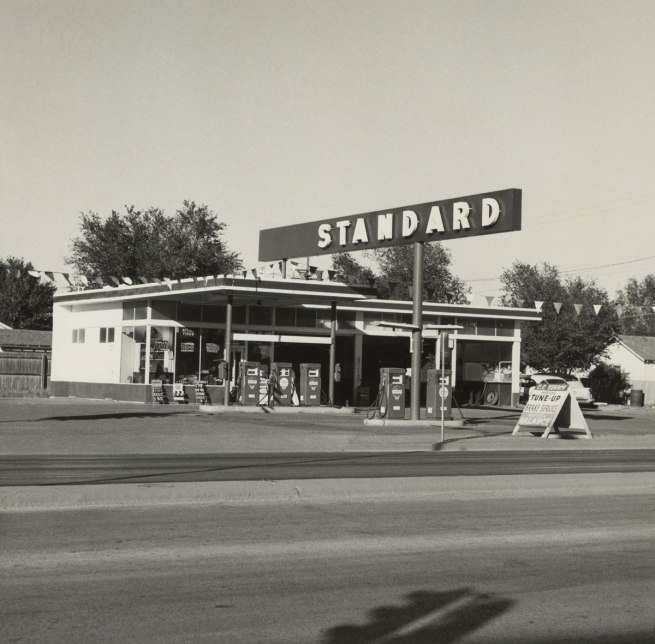 Ed Ruscha (American, born 1937) 'Standard, Amarillo, Texas' 1962
