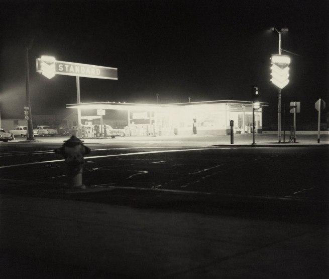 Ed Ruscha (American, born 1937) 'Standard, Figueroa Street, Los Angeles' 1962