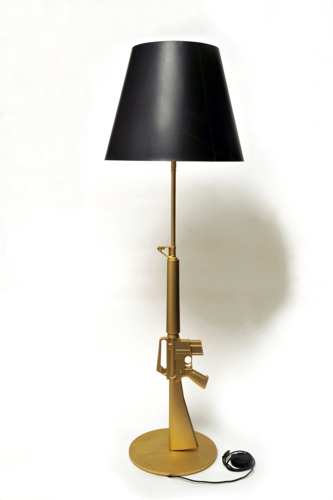 Philippe Starck. Floor lamp 'Guns – Lounge Gun' 2005