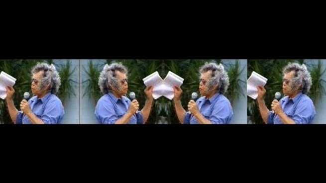 Vernon Ah Kee (QLD b.1967) Kuku Yalanji/Waanyi/Yidinyji/GuuguYimithirr people 'Tall Man' (still) 2010