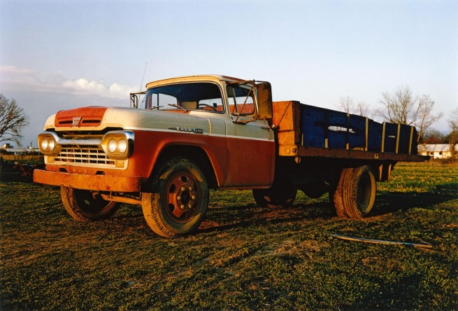 William Eggleston. 'Farm truck, Memphis, Tennessee' 1972