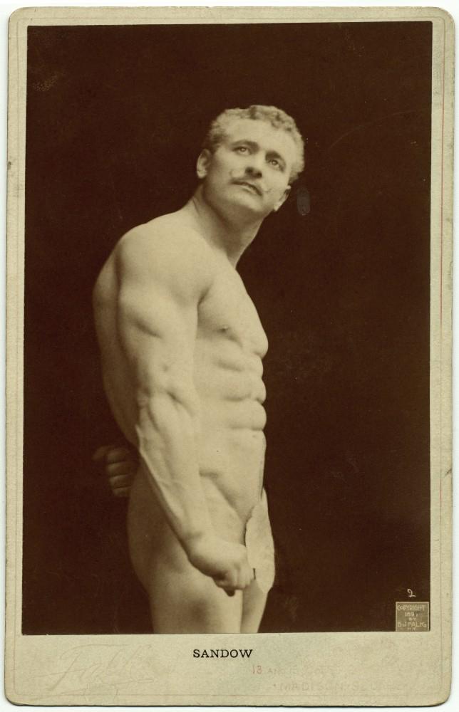 B. J. Falk (American, 1853 - 1925) 'Sandow' c. 1895