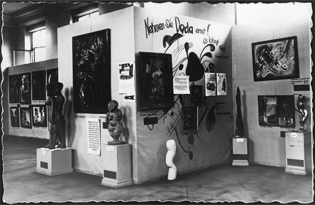 Anonymous photographer. 'Entartete Kunst (Degenerate Art) exhibition' 1936