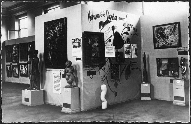 Anonymous photographer. 'Entartete Kunst (Degenerate Art) exhibition' 1936