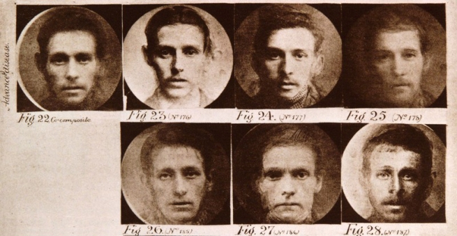 Francis Galton (British, 1822-1911) 'Composite portraits of Advanced Disease' 1883
