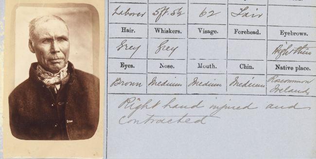 Thomas J. Nevin. 'Hugh Cowan, aged 62 yrs' 1878