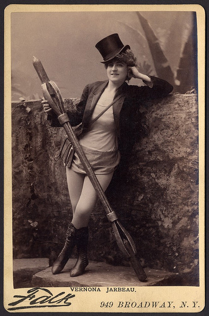 B. J. Falk (American, 1853-1925) 'Verona Jarbeau' c. 1885