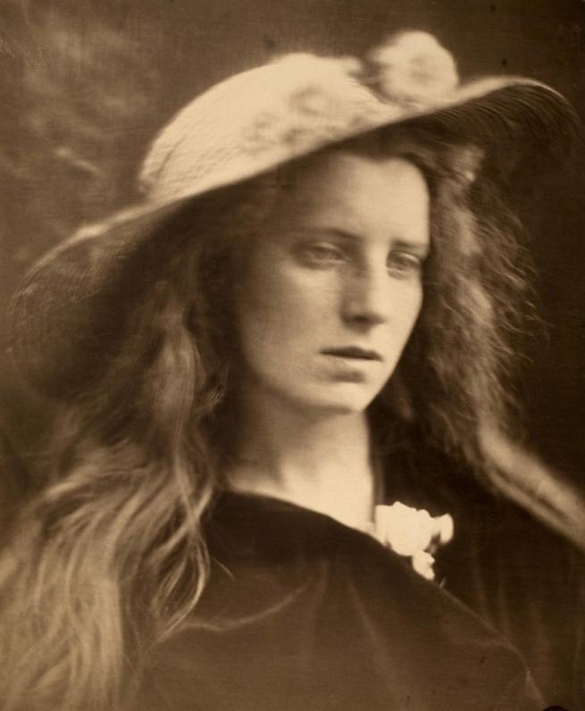 Julia Margaret Cameron (British, 1815 - 1879) 'Ophelia Study No. 2' 1867