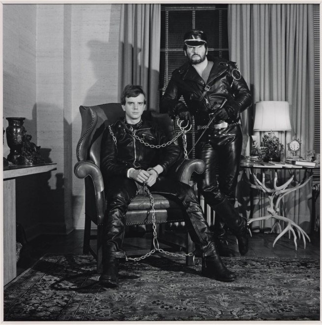 Robert Mapplethorpe (1946-1989) 'Brian Ridley and Lyle Heeter' 1979