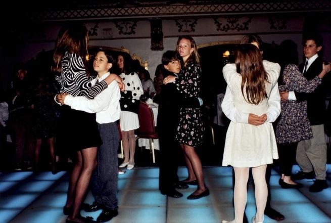 "Melissa Ann Pinney (American, b. 1953) ""Bat Mitzvah Dance, Knickerbocker Hotel, Chicago"" 1991, print 2003"