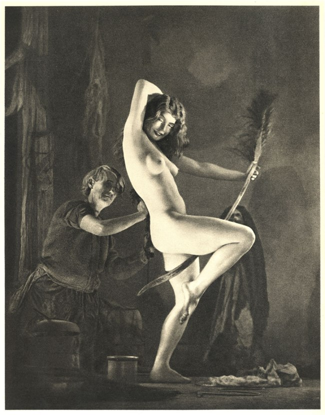 William Mortensen (American, 1897-1965) 'Preparing for the Sabbot' c. 1926