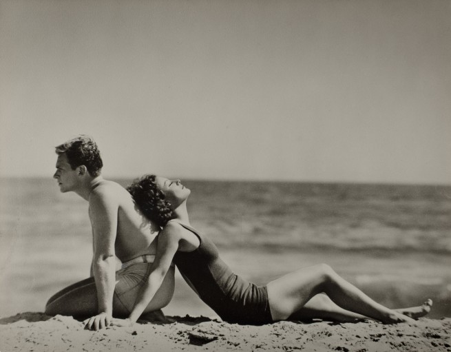 Nickolas Muray (American, b. Hungary, 1892 - 1965) 'Douglas Fairbanks, Jr. & Joan Crawford' c. 1930
