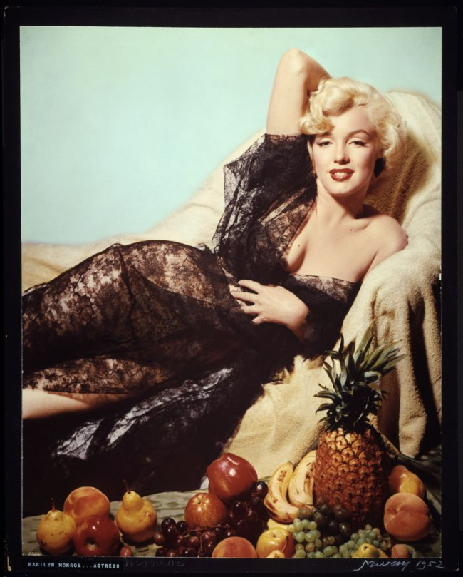 Nickolas Muray (American, b. Hungary, 1892-1965) 'Marilyn Monroe .... Actress' 1952