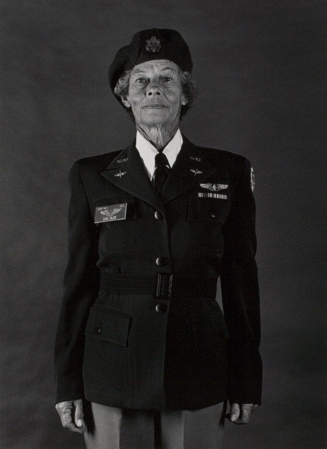 Anne Noggle (American, 1922-2005) 'Lois Hollingsworth Zilner, Woman Air force Service Pilot, WWII' 1984, print 1986