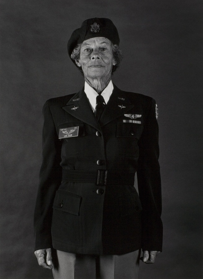 Anne Noggle (American, 1922 - 2005) 'Lois Hollingsworth Zilner, Woman Air force Service Pilot, WWII' 1984, print 1986