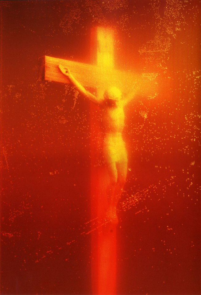 Andres Serrano (born August 15, 1950) 'Immersion (Piss Christ)' 1987