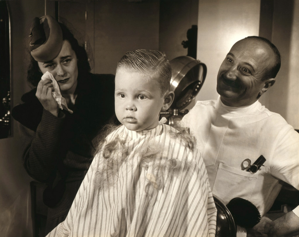 Victor keppler american 1904 1987 first hair cut 1943
