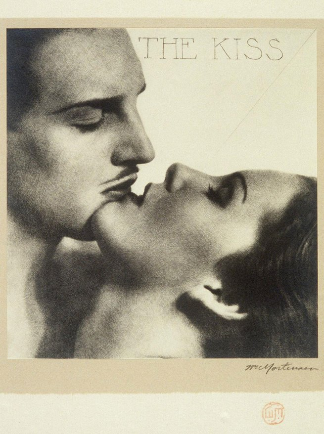 William Mortensen (American, 1897-1965) 'The Kiss' From the portfolio 'Pictorial Photography' c. 1930