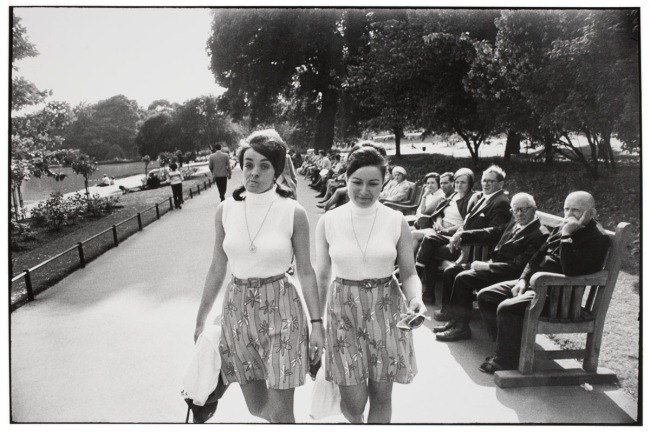 Garry Winogrand (American, 1928-1984) 'Untitled (Identically Dressed)' Nd