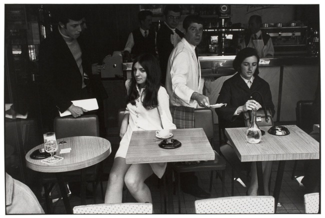 Garry Winogrand (American, 1928-1984) 'Untitled (Café, Paris)' about 1969