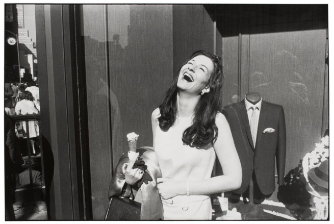 Garry Winogrand (American, 1928-1984) 'Untitled (Woman Laughing, New York)' 1968