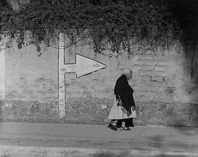 Manuel Álvarez Bravo. 'La señal' 1967