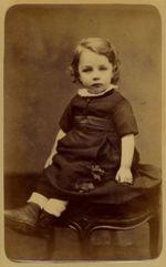 Anonymous photographer. 'Portrait of Anatole Mallarmé' c. 1874