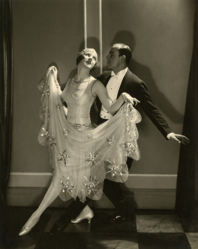 Edward Steichen (American 1879-1973, emigrated to United States 1881, worked in France 1906-23) 'Dancers Leonore Hughes and Maurice Mouvet' 1924