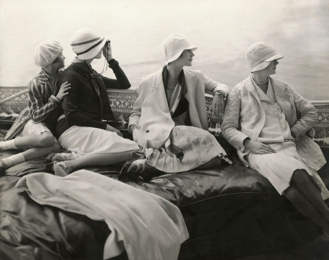 Edward Steichen (American 1879-1973, emigrated to United States 1881, worked in France 1906-23) 'On George Baher's yacht' 1928