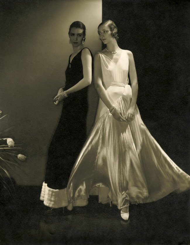 Edward Steichen (American 1879-1973, emigrated to United States 1881, worked in France 1906-23) 'Marion Morehouse and unidentified model wearing dresses by Vionnet' 1930