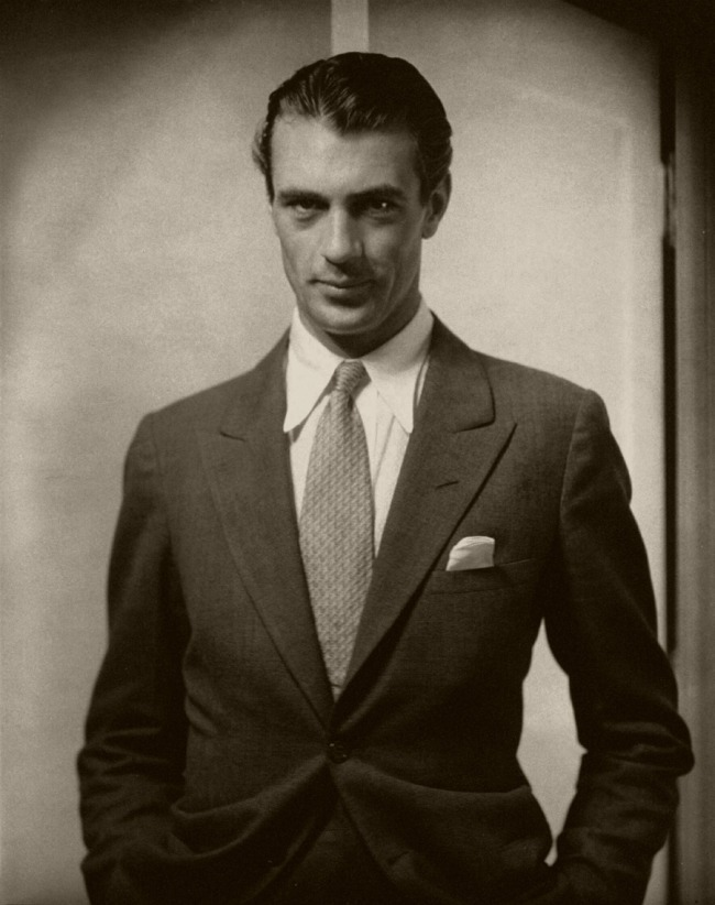 Edward Steichen (American 1879-1973, emigrated to United States 1881, worked in France 1906-23) 'Actor Gary Cooper' 1930