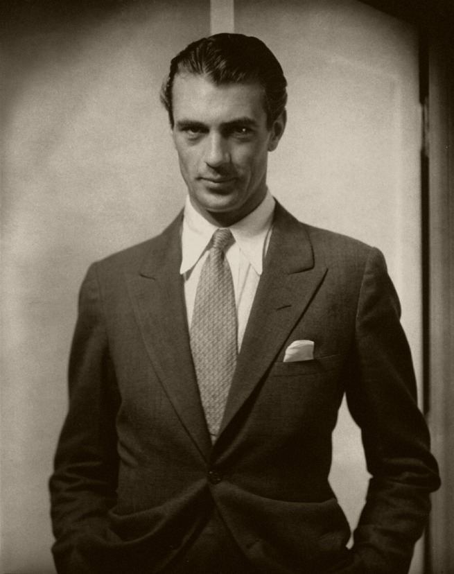 Edward Steichen American 1879-1973, emigrated to United States 1881, worked in France 1906-23 'Actor Gary Cooper' 1930