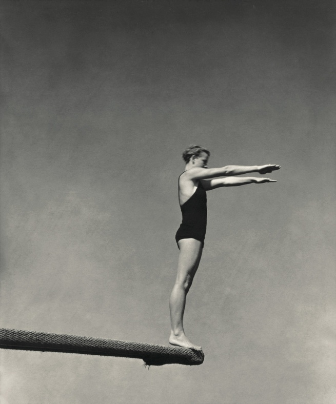 Edward Steichen American 1879-1973, emigrated to United States 1881, worked in France 1906-23 'Olympic diver Katherine Rawls' 1931